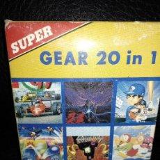 Videojuegos y Consolas: SUPER GEAR 20 EN 1 PARA SEGA GAME GEAR. Lote 121011083