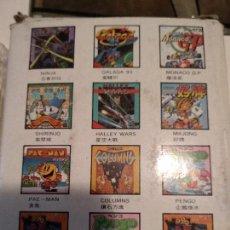 Videojuegos y Consolas: JUEGO PARA SEGA GAME GEAR 10 EN 1. Lote 121011471