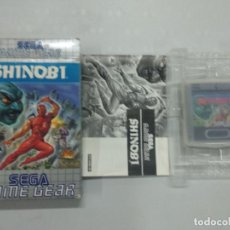 Videojuegos y Consolas: SHINOBI - SEGA GAME GEAR - GG COMPLETO. Lote 121640995