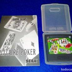 Videojuegos y Consolas: SEGA GAME GEAR - SOLITAIRE POKER - BOX 8. Lote 121823619