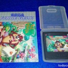 Videojuegos y Consolas: SEGA GAME GEAR - TAZMANIA - BOX 8. Lote 121823671