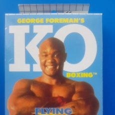Videojuegos y Consolas: GEORGE FOREMAN'S KO BOXING - JUEGO SEGA GAME GEAR - FLYING EDGE. Lote 126125756