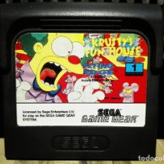 Videojuegos y Consolas: KRUSTY'S FUN HOUSE SEGA GAME GEAR. Lote 127149723
