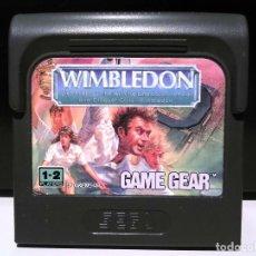 Videojuegos y Consolas: WIMBLEDON SEGA GAME GEAR. Lote 127150275