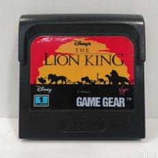 Videojuegos y Consolas: JUEGO THE LION KING PARA SEGA GAME GEAR. Lote 127836348