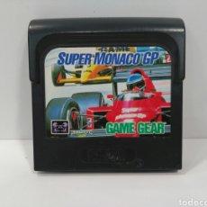 Videojuegos y Consolas: JUEGO SUPER MONACO GP PARA SEGA GAME GEAR. Lote 127836750