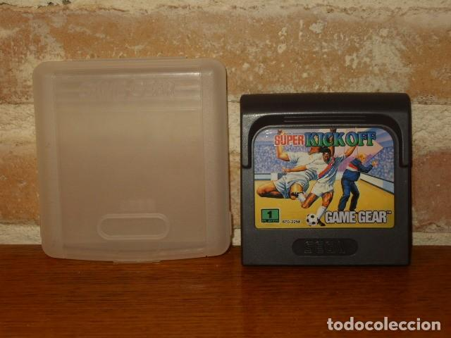 JUEGO SEGA KICK OFF ORIGINAL EN SU FUNDA. (Juguetes - Videojuegos y Consolas - Sega - GameGear)