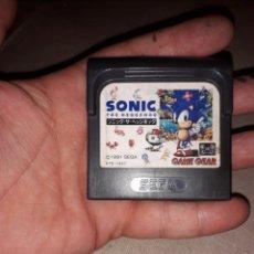 Videojuegos y Consolas: JUEGO SONIC THE HEDGEHOG PARA GAME GEAR 1991. Lote 128324319