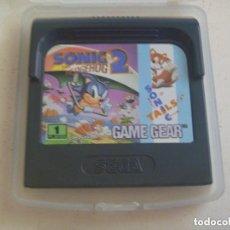 Videojuegos y Consolas: JUEGO DE GAME GEAR : SONIC 2 THE HEDGEHOG . MADE IN JAPAN.. Lote 128626587