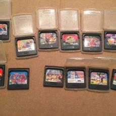 Videojuegos y Consolas: 187L672 LOTE DE 12 JUEGOS, CARTUCHOS, PARA SEGA GAME GEAR,. Lote 128833963