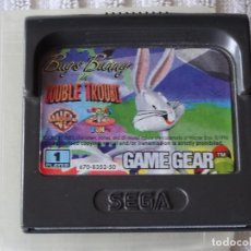 Videojuegos y Consolas: JUEGO PARA SEGA GAME GEAR - BUGS BUNNY DOUBLE TROUBLE + FUNDA , GG GAMEGEAR GG. Lote 129550487