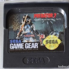 Videojuegos y Consolas: JUEGO PARA SEGA GAME GEAR - PREDATOR 2 + FUNDA , GG GAMEGEAR GG. Lote 129552079