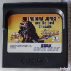 Videojuegos y Consolas: JUEGO PARA SEGA GAME GEAR - INDIANA JONES + FUNDA , GG GAMEGEAR GG. Lote 129552287