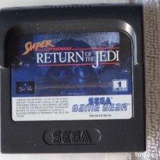 Videojuegos y Consolas: JUEGO PARA SEGA GAME GEAR - SUPER STAR WARS + FUNDA , GG GAMEGEAR GG. Lote 129552567