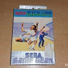 Videojuegos y Consolas: SUPER KICK OFF GAMEGEAR GAME GEAR PAL ESPAÑA COMPLETO. Lote 131303147