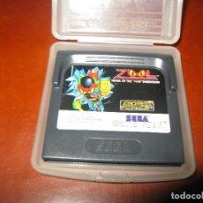 Videojuegos y Consolas: ZOOL NINJA OF THE MTH DIMENSION SEGA GAME GEAR GAMEGEAR. Lote 130854700