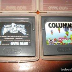Videojuegos y Consolas: JUEGOS GAMEGEAR POWER RANGERS Y COLUMNS. Lote 130854736
