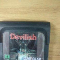 Videojuegos y Consolas: DEVILISH - SEGA GAME GEAR - GG. Lote 131175600