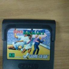 Videojuegos y Consolas: SUPER KICK OFF - SEGA GAME GEAR - GG. Lote 131176236