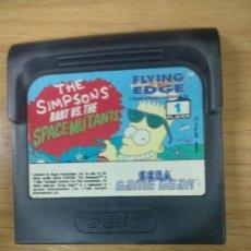 Videojuegos y Consolas: THE SIMPSONS BART VS THE SPACE MUTANTS - SEGA GAME GEAR - GG. Lote 131176344