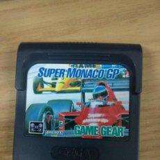 Videojuegos y Consolas: SUPER MONACO GP - SEGA GAME GEAR - GG. Lote 131176784