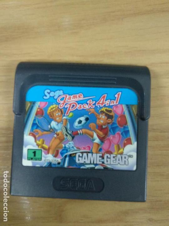 Videojuegos y Consolas: SEGA Game pack 4 in 1 - SEGA Game Gear - GG - Foto 1 - 131176916
