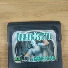 Videojuegos y Consolas: DRAGON CRYSTAL - SEGA GAME GEAR - GG. Lote 131177172