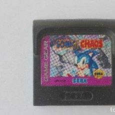 Videojuegos y Consolas: SEGA SONIC CHAOS GAME GEAR GAMEGEAR NO PROBADO. Lote 131293235