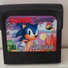 Videojuegos y Consolas: JUEGO SONIC THE HEGDEHOG SOLO CARTUCHO SEGA GAME GEAR. Lote 133001134