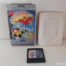 Videojuegos y Consolas: JUEGO GLOBAL GLADIATORS SIN MANUAL SEGA GAME GEAR. Lote 133001278