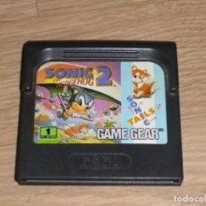 Videojuegos y Consolas: SEGA GAMEGEAR SONIC 2 THE HEDGEHOG. Lote 133027410