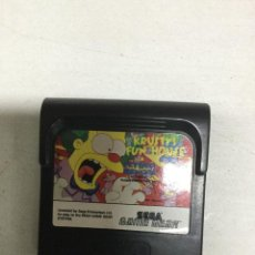Videojuegos y Consolas: KRUSTY'S FUN HOUSE - SEGA GAME GEAR - GG. Lote 133371102