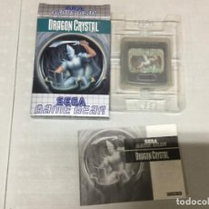 Videojuegos y Consolas: DRAGON CRYSTAL - SEGA GAME GEAR - GG COMPLETO. Lote 133373030