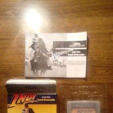 Videojuegos y Consolas: INDY. INDIANA JONES AND THE LAST CRUSADE. JUEGO GAME GEAR. SEGA. US GOLD. CON CAJA, FUNDA, E INSTRUC. Lote 133865254