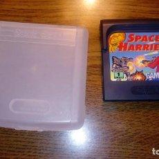 Videojuegos y Consolas: SPACE HARRIER. JUEGO GAME GEAR. SEGA. CON FUNDA.. Lote 133995534