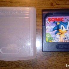 Videojuegos y Consolas: SONIC THE HEDGEHOG. JUEGO GAME GEAR. SEGA. CON FUNDA.. Lote 133995598