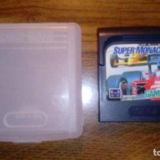 Videojuegos y Consolas: SUPER MONACO GP. JUEGO GAME GEAR. SEGA. CON FUNDA.. Lote 133995710