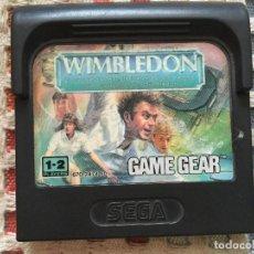 Videojuegos y Consolas: WIMBLEDON GAME GEAR GG SEGA SGG GG KREATEN. Lote 134203658