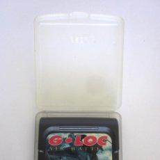 Videojuegos y Consolas: JUEGO SEGA GAME GEAR CARTUCHO CON ESTUCHE G – LOC AIR BATTLE MADE IN JAPAN. Lote 135648439