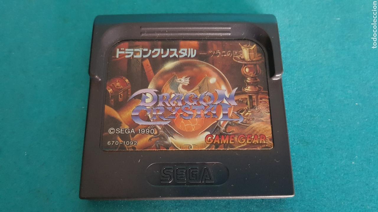 GAME GEAR DRAGON CRYSTAL SEGA 1990 JUEGO (Juguetes - Videojuegos y Consolas - Sega - GameGear)