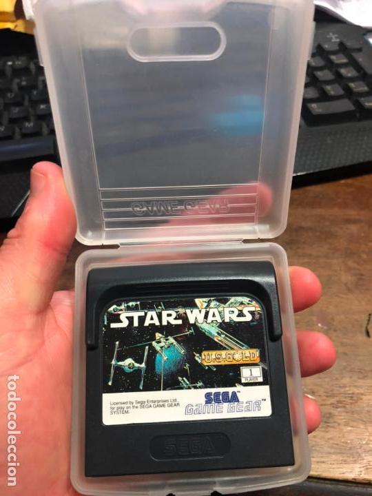 VIDEOJUEGO STAR WARS - SEGA GAME GEAR (Juguetes - Videojuegos y Consolas - Sega - GameGear)