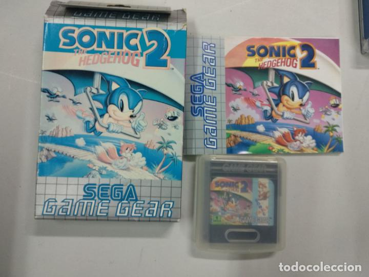 Sonic The Hedgehog 2 Sega Game Gear Gg Comp Buy Video Games And Consoles Game Gear At Todocoleccion 140285414