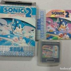 Videojuegos y Consolas: SONIC THE HEDGEHOG 2 - SEGA GAME GEAR - GG COMPLETO. Lote 140285414
