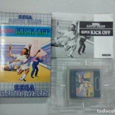 Videojuegos y Consolas: KICK OFF - SEGA GAME GEAR - GG COMPLETO. Lote 140286394