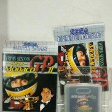 Videojuegos y Consolas: AYRTONN SENNA'S MONACO GP 2 II - SEGA GAME GEAR - GG COMPLETO. Lote 140314594