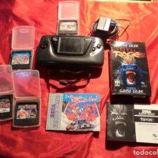 Videojuegos y Consolas: SEGA GAME GEAR CON JUEGOS. Lote 140648486