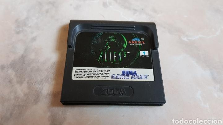 JUEGO SEGA GAME GEAR ALIEN 3 (Juguetes - Videojuegos y Consolas - Sega - GameGear)
