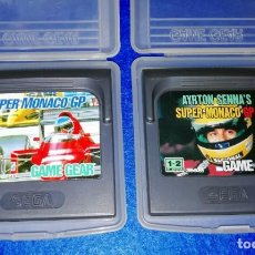 Videojuegos y Consolas: SEGA GAMEGEAR GAME GEAR --- PACK SUPER MONACO GP I Y II --- BOX17. Lote 142395734