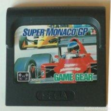 Videojuegos y Consolas: SUPER MONACO GP GAME GEAR. Lote 143129698