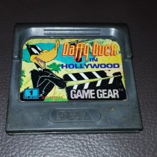 Videojuegos y Consolas: ANTIGUO JUEGO DAFFY DUCK IN HOLLYWOOD SEGA GAME GEAR. Lote 145679762